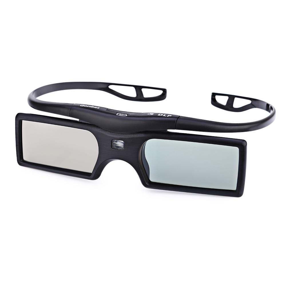 Gonbes G15 - DLP DLP-link VR <font><b>Glasses</b></font> Active Shutter 3D Movie Game <font><b>Glasses</b></font> for <font><b>Optoma</b></font> Sharp LG Acer BenQ Acer Dell 3D Projector