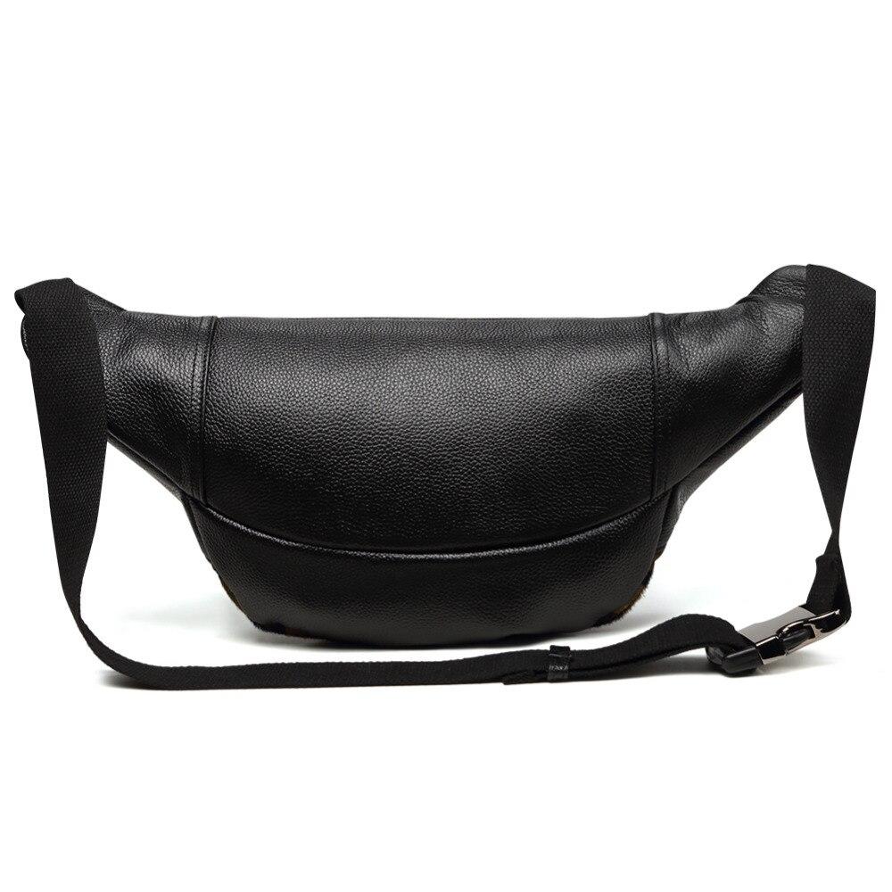 Мужские поясные сумки из натуральной кожи, камуфляжные нагрудные сумки, поясные сумки, мешочки для телефона, поясные сумки для путешествий, Мужские поясные сумки, кожаные сумки - 4