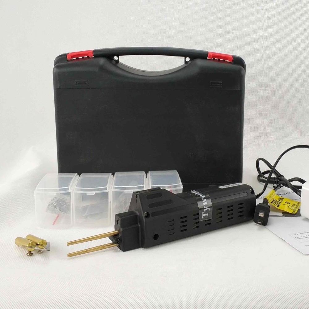 Car Bumper Repair Tool Kits Plastic Welder HPW Hot Staplers Machine Car Bumper Repair Tool Staple PVC Hot Staplers