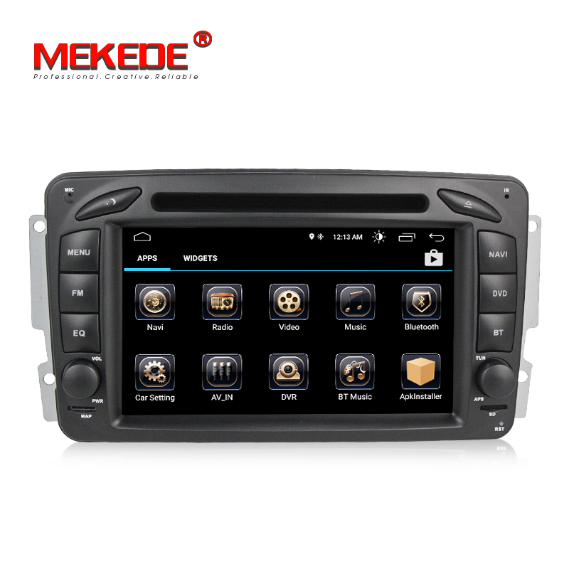 Voiture GPS Navigation Pour Mercedes/Benz Clk W209/W203/W168/M/ML/W163/ viano/W639 Android 8.0 Voiture dvd radio lecteur CANBUS WIFI BT RDS