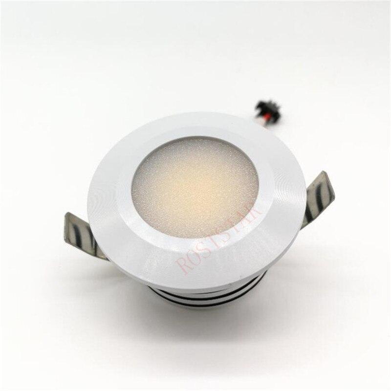 Бесплатная доставка мини свет затемнения 5 Вт мини светодиодные светильники Холодный белый/натуральный белый/теплый белый/встраиваемые ку...