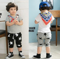 Free Shipping! Cheap New children trousers Boy Girl Summer Five Star Pants Birthday Gift kid clothes Wholesale And Retail