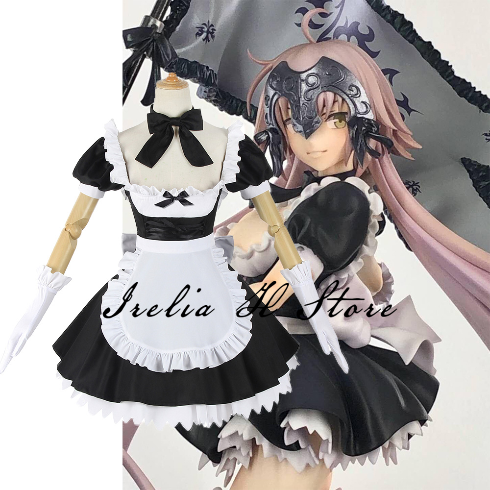Maiden Alter FGO Cosplay Fate/Grand Order Jeanne d'Arc maid dress Cosplay Costume GK Figure Costume 2