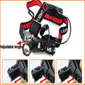 Ultra Bright 2000LM CREE Q5 LED Zoomable Headlamp HeadLight 3 Mode 18650/AAA Head lamp Flashlight
