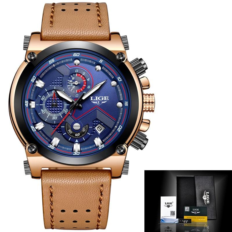 Herenhorloges LIGE Topmerken Luxe Heren Militair Sporthorloge - Herenhorloges - Foto 6