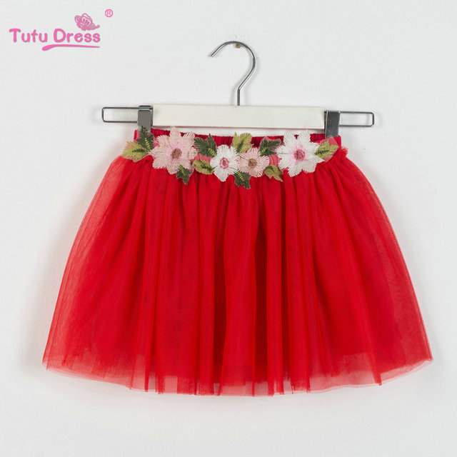 42bdca7e6b 2018 Baby Girl Pettiskirts Net Veil Skirt Kids Cute Princess Clothes  Birthday Gift Toddler Ball Gown Party Kawaii TUTU Skirts