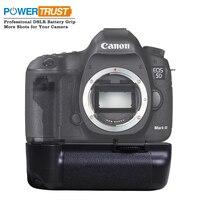 Powertrust pionowe BG E6 uchwyt baterii dla Canon 5D Mark II 5D2 w celu uzyskania BG E6 pracy z LP E6 baterii w Uchwyty do akumulatorów od Elektronika użytkowa na