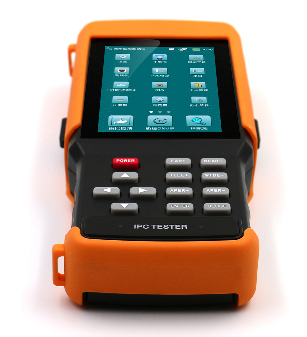 700 tvl cctv camera tester with 4.3-inch resolution of 800/480 IPS fully view from asmile