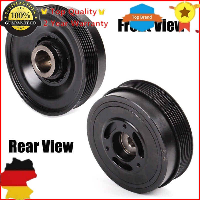 New Crankshaft Pulley Harmonic Balancer 11237525135,11237514461 For Mini S R50 R52 R53 John Cooper S Engine W11B16A john cooper clarke manchester
