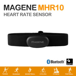 Magene MHR10 Dual Mode ANT+ & Bluetooth 4.0 Heart Rate Sensor With Chest Strap(China)
