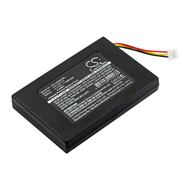Cameron Sino 1200mah battery for LOGITECH G533 G933 533-000132 batteries