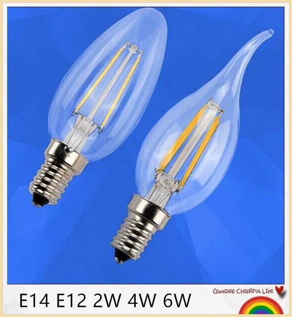 Yon Dimmbare Led Gluhlampen Licht E14 2 Watt 4 Watt 6 Watt Lampe