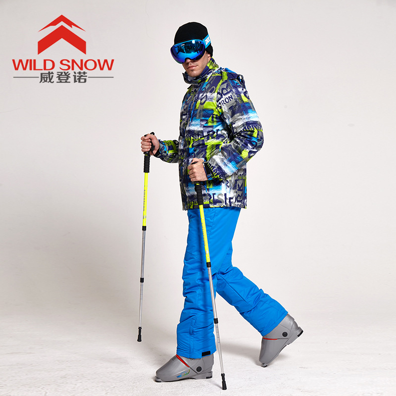 Letters Professional Ski Suit New Style Men's Snowboard Jacket And Pants Skiing Male Windproof Waterproof Men Skiwear Plus Size цены