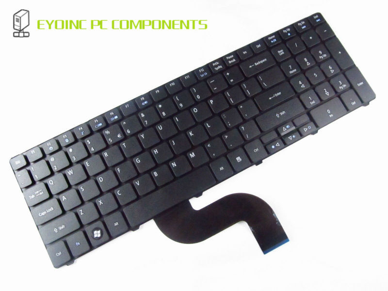 Original US Layout Keyboard Replacement for <font><b>Acer</b></font> <font><b>Aspire</b></font> 7736 7736Z 7736G <font><b>7736ZG</b></font> 7738 7738G 7738/g image
