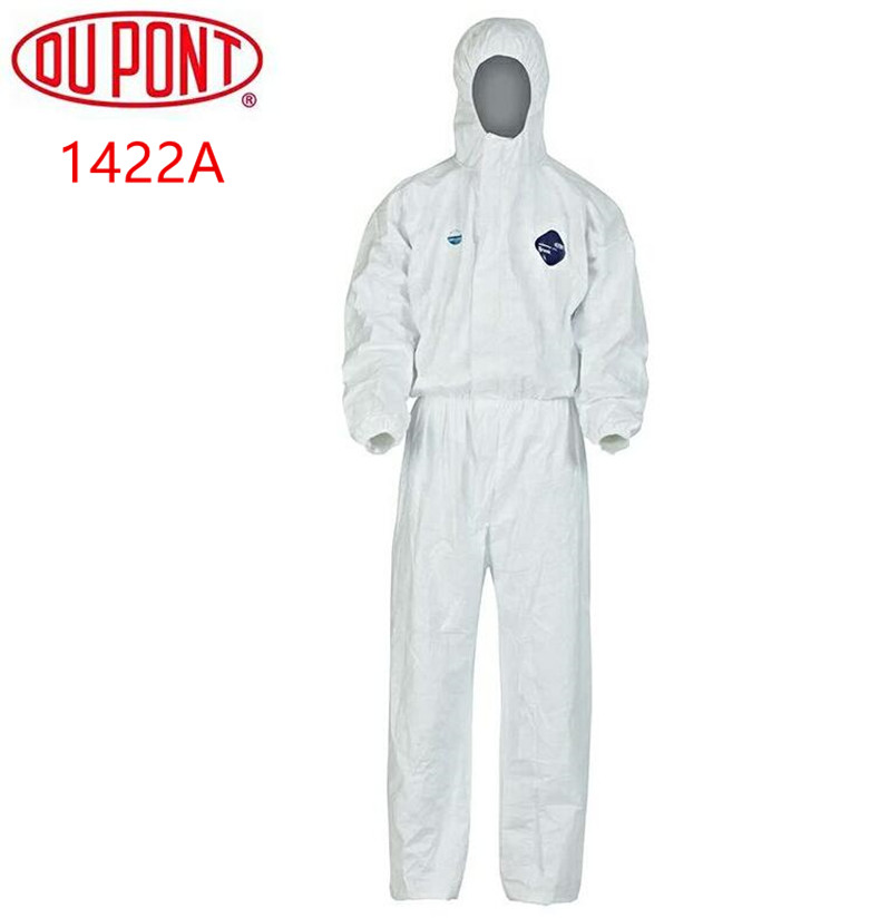 Dependable 3m 4515 Safety Clothing Disposable Protective Coveralls White Hooded Anti Particulate Matter Liquid For Protective Clothing Workplace Safety Supplies