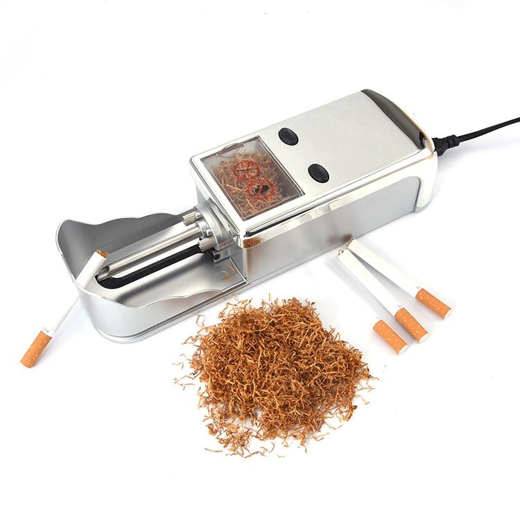 JIJU Elektrické Automatické Cigaretový Válcovačka Tabák Injektor Maker Váleček EU Elektrický Výkon Náhodné Barva JL-005A