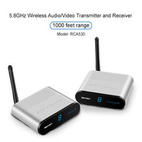 Measy 5.8GHz Wireless Audio/Video Transmitter and Receiver 1000 Feet /300m Range