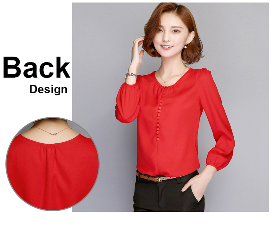 long sleeve blouse shirt women (3)