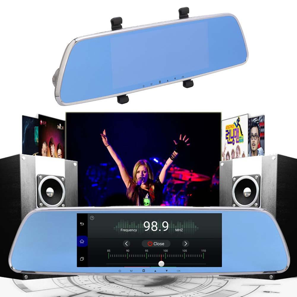 [Оригинальный] 7 дюймов сенсорный экран автомобильный gps регистратор двойной камера 3g Smart зеркало заднего вида HD Android удаленного Поддержка ав