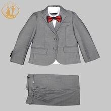 Nimble Suit for Boy School Formal Set Button Blazers for Boy