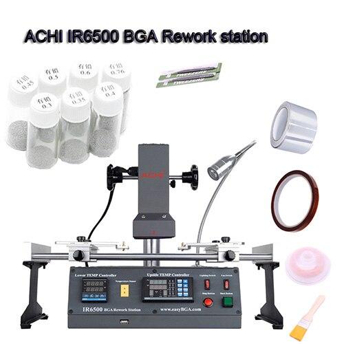 ACHI IR6500 V.2 IR A Raggi Infrarossi BGA stazione di rilavorazione per le Schede Madri di Riparazione BGA Lavoro