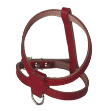 Adjustable Comfort Genuine Leather Dog Harness Sturdy and Durable for Small Puppy Dogs
