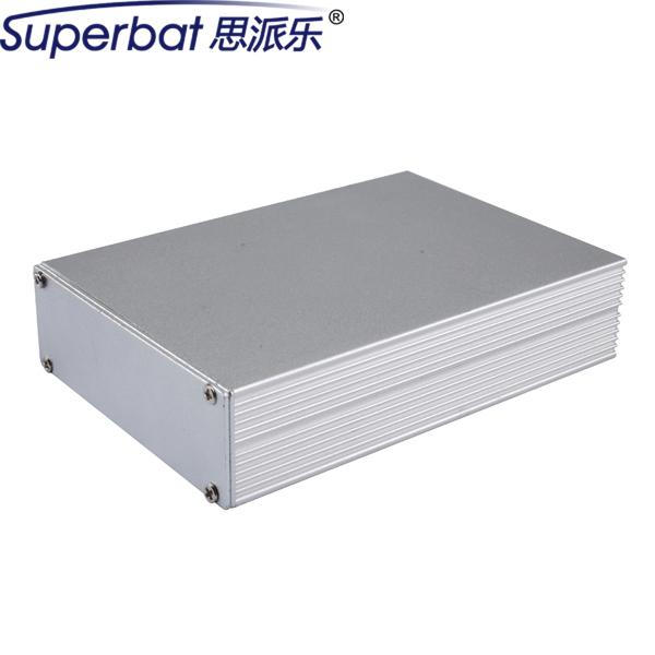 """Superbat Plata Caja de Conexiones de Aluminio 110mm * 78mm * 26mm Electrónica Instrment PCB Amplificador DIY Caso Caja 4.32 """"* 3.07"""" * 1.02"""""""