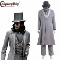 Cosplaydiy Dracula Cosplay Vampires Victorian Period Gothic Adult Man Halloween Carnival Costumes Custom Made D0606