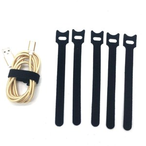 Image 5 - 20Pcs TV Computer Wire Cable Winder Ties Organizer Maker Holder Cord Management Straps magic tape 12*150mm