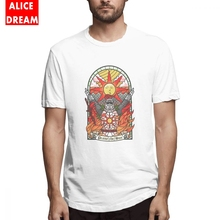 Dark Souls 3 T shirt Mens Quality Church Of The Sun T-shirt Soft Shirt Round Neck Plus Size Tee Praise the Youth