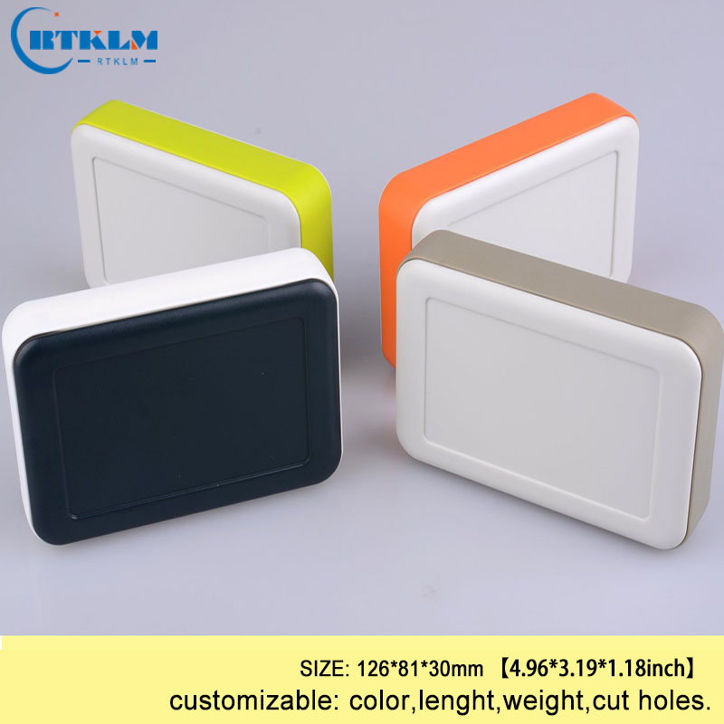 Four color custom handheld plastic enclosure diy electronic box for projects abs junction box design instrument case 126*81*30mmFour color custom handheld plastic enclosure diy electronic box for projects abs junction box design instrument case 126*81*30mm
