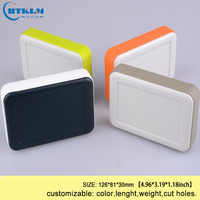 Four color custom handheld plastic enclosure diy electronic box for projects abs junction box design instrument case 126*81*30mm