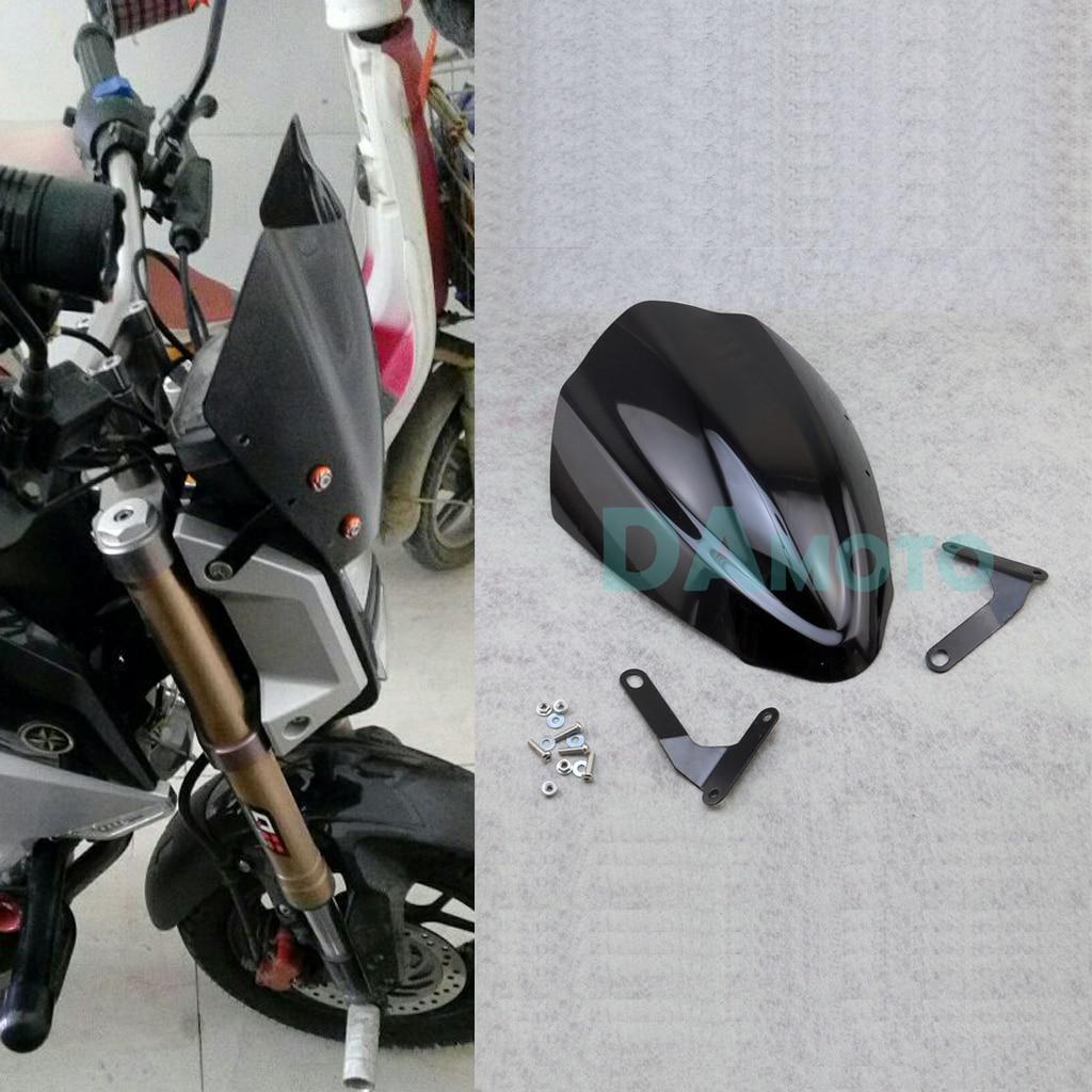 Motorbike Front headlight Fairing Windshield Cover For Honda MSX125 M3 Monkey