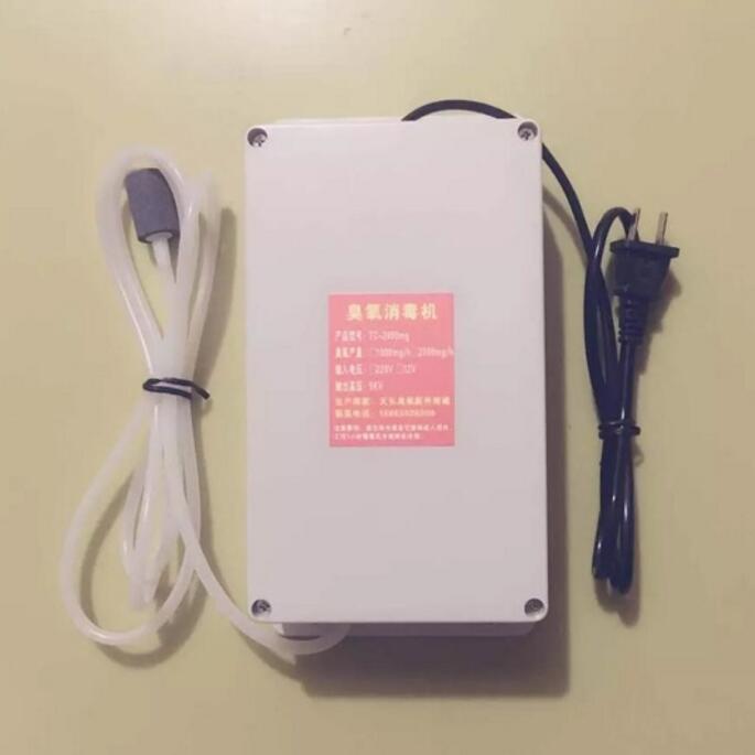 2000mg uzdatniania wody generator ozonu 8L fish tank owoce i warzywa sterylizacji dezodorant oczyszczacz powietrza dezynfekcji ozonu