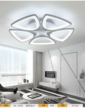Postmodern minimalist led ceiling lamp Fashion creative living room lighting atmosphere round bedroom dining