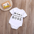 2016 Baby Bodysuits Newborn Clothes Body Short Sleeve Bodysuites Summer Infant Jumpsuit Girl Next Baby Clothing
