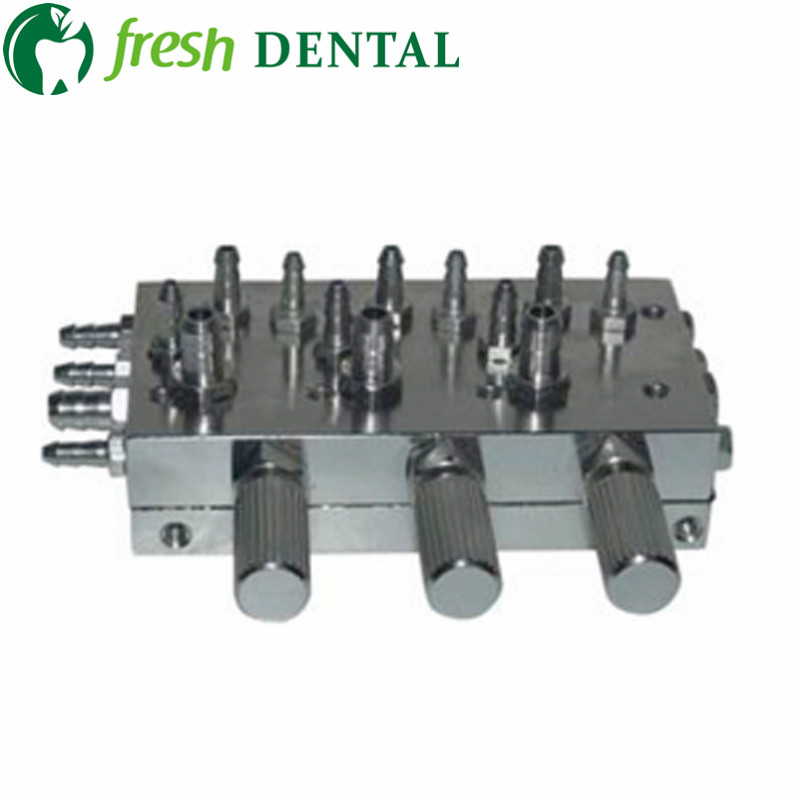 1 PC dental 3 in 1 valve metal Control valve Water Diaphragm Membrane Valve dental chair dental unit three in one valve SL1226 1 2 built side inlet floating ball valve automatic water level control valve for water tank f water tank water tower