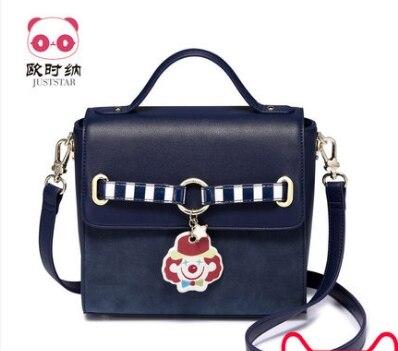 Princess sweet lolita JUSTSTAR bag Adorable winter fun and strap Shoulder Bag Handbag Korean Fashion Square bag women 171669 юбка strawberry witch lolita sk