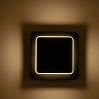 Creative 5w Bedside Wall Lamp Rotatable Living Room LED Wall Lamp Home Decor Modern Square Lamp Bedroom Night Light Sale
