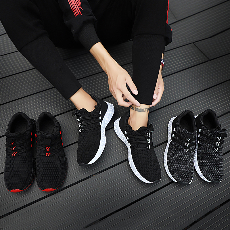HTB1CJIYXcvrK1Rjy0Feq6ATmVXar Male Breathable Comfortable Casual Shoes Fashion Men Canvas Shoes Lace up Wear-resistant Men Sneakers zapatillas deportiva