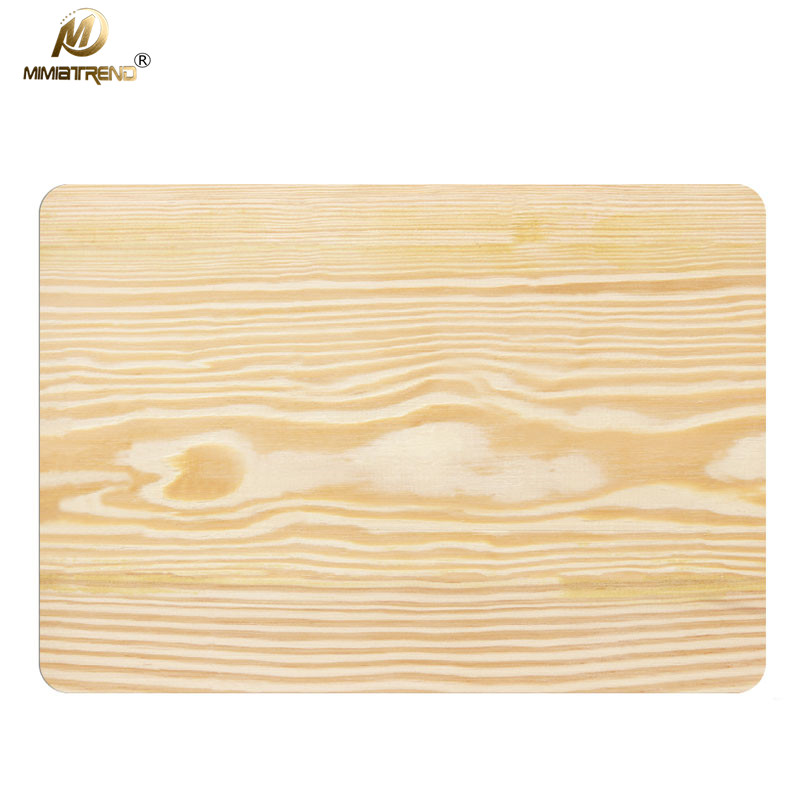 Mimiatrend Wood Grain Laptop Decal Sticker Case For Apple Macbook Air Pro 11 13 15 Inch Guard Protective Cover Skin Wholesale