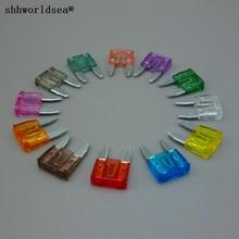 shhworldsea 120PCS zinc blade auto fuse /ATC fuse,automotive mini fuse--mini 1A