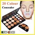 Profesional 20 color corrector Face Contour Flawless camuflaje crema maquillaje Kit cosmético de la gama