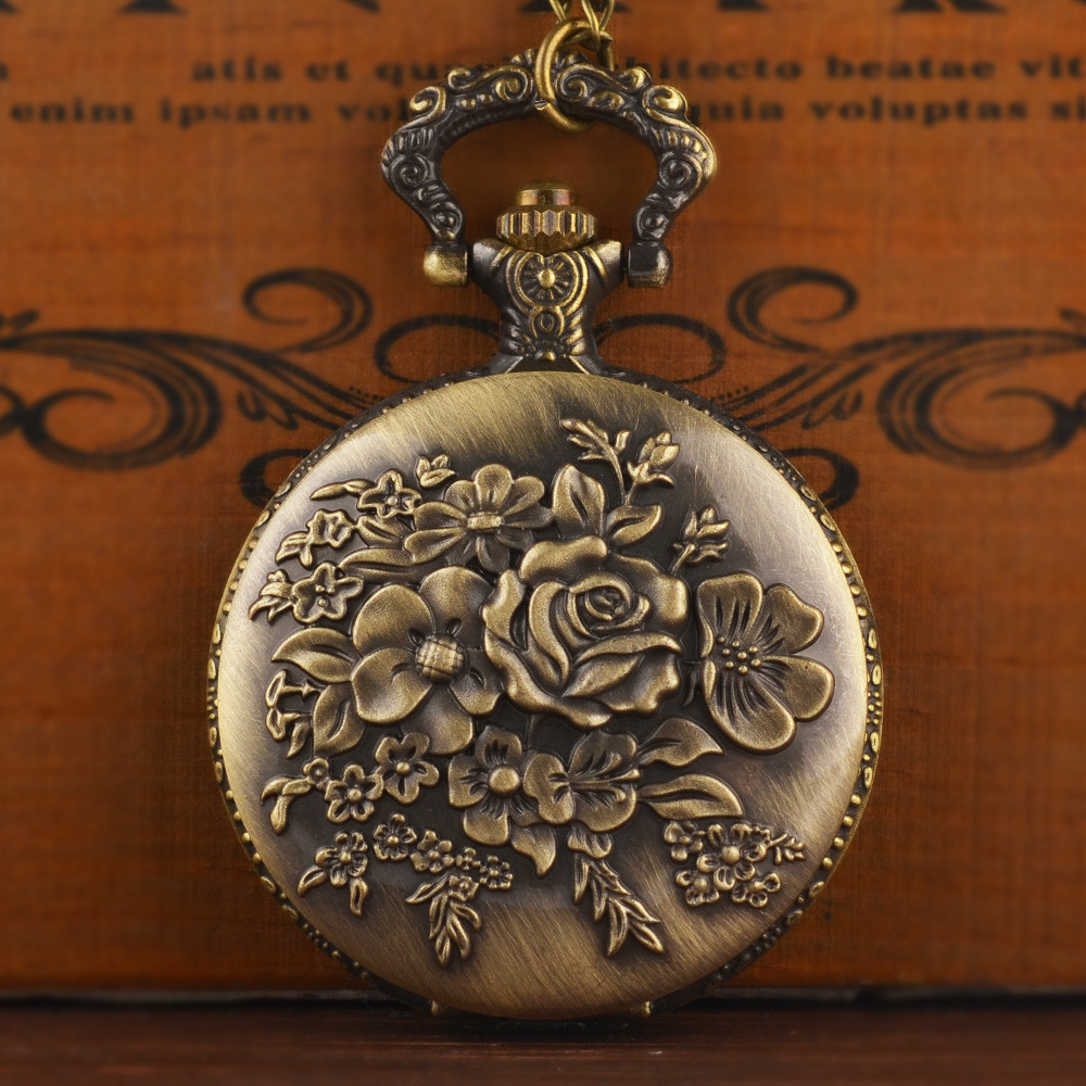 Classy Black Hand-winding Mechanical Pocket Watch Fob Chain Men Watches Plain Flip Clock For Laser Engraved Without Battery Gift