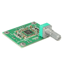 4×3.3×1.4cm 10W X 2 DC 7-15V PAM8610 Digital Audio Stereo Amplifier PCB Circuit Board Module DC 12V Electronic kit Circuit Board