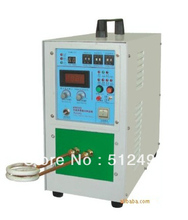 35KVA drill welding induction heating machine with melt capacity 20kg gold/silver
