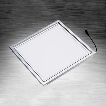 6pcs/lot Led Panel Ceiling Light 12W 18W  300X300 Integrated Embedded Ceiling Wall panel Lamps For Kitchen Bathroom Office