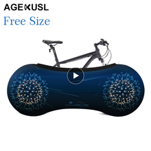 Free Size AGEKUSL Bicycle Protective Gear Bike Dust Cover Scratch-proof Protector MTB Mountain Road Folding Bicycle Accessory