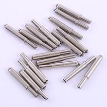 Needle Length 24mm Elastic Positioning Column Test Light Board Tool 50Pcs Iron Nickel Dowel