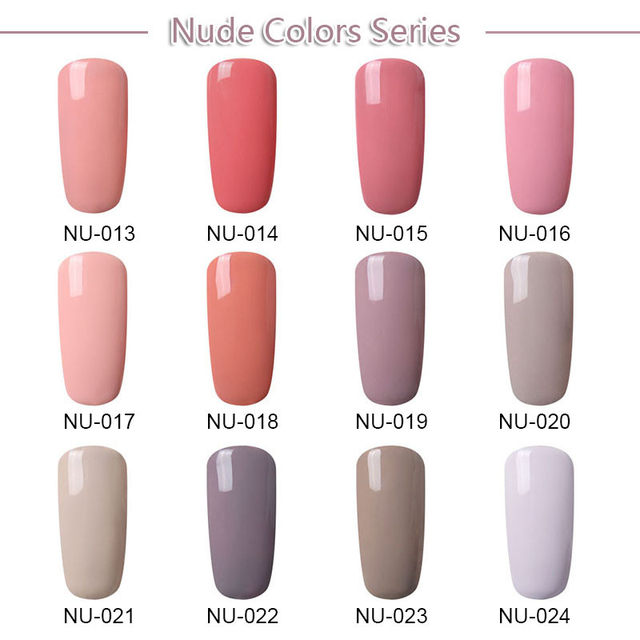 Online Shop FairyGlo 10ML Stamping Paint Nail Polish Nude Color ...